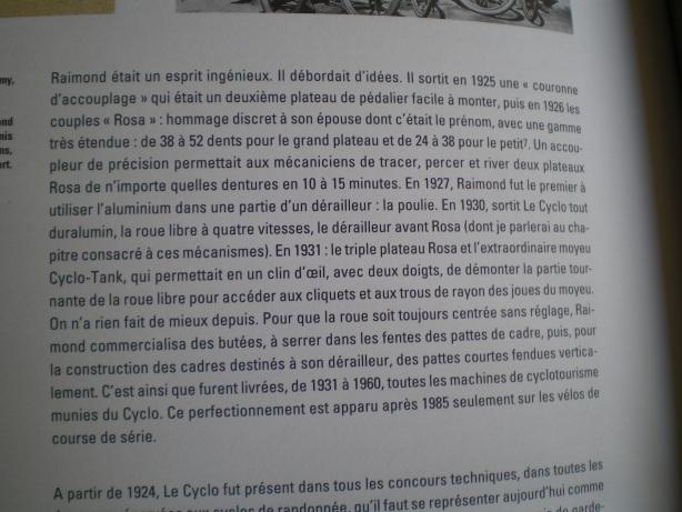 dérailleurs et pédaliers ROSA , histoire .... 1925 a 1960 File
