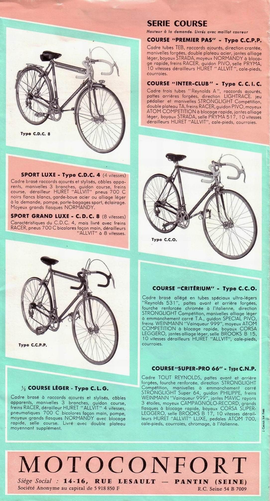 motoconfort 1/2 course C.D.C4 1965-66 File