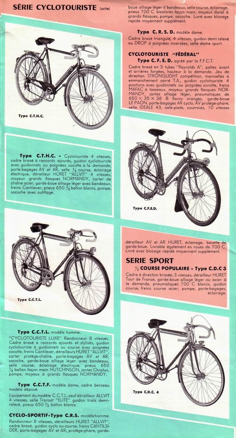 MOTOBECANE  CDC 3  début/mi  60's File