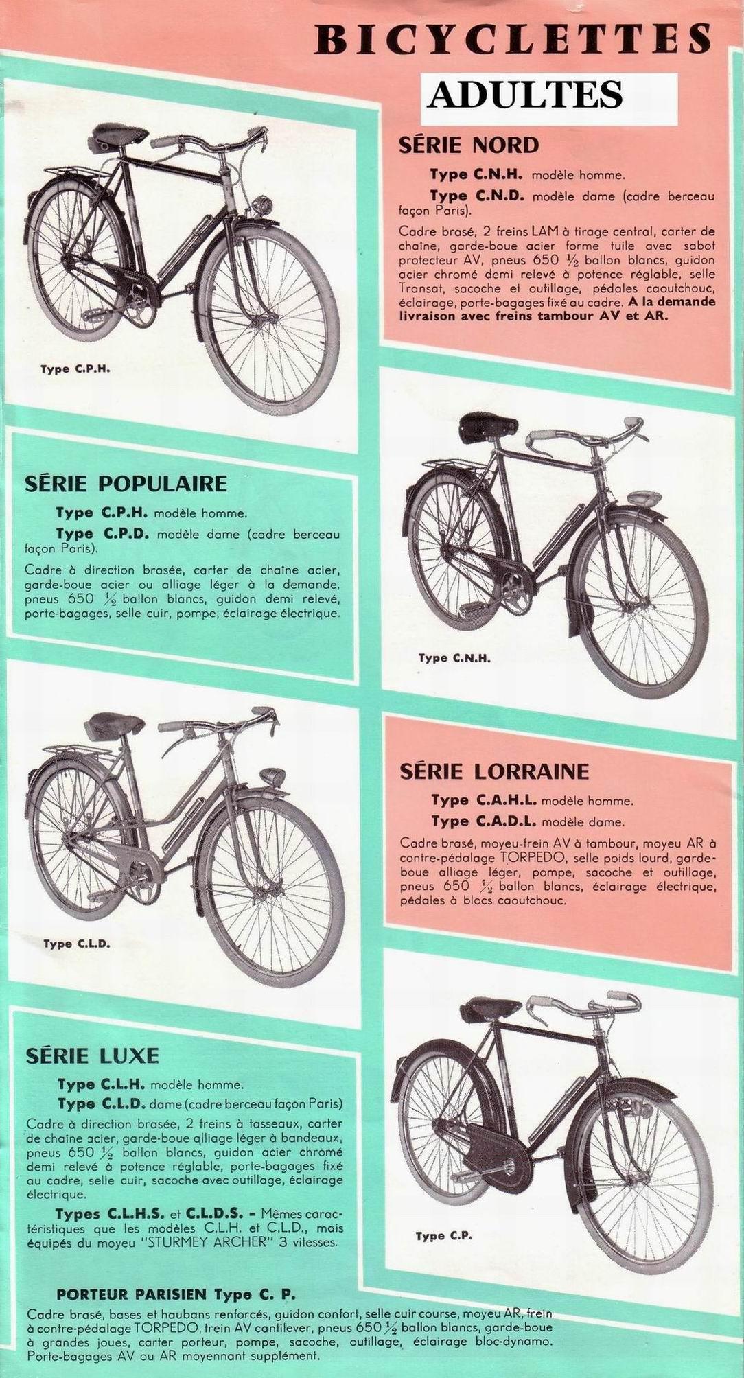 Motobécane Pantin 1958  File