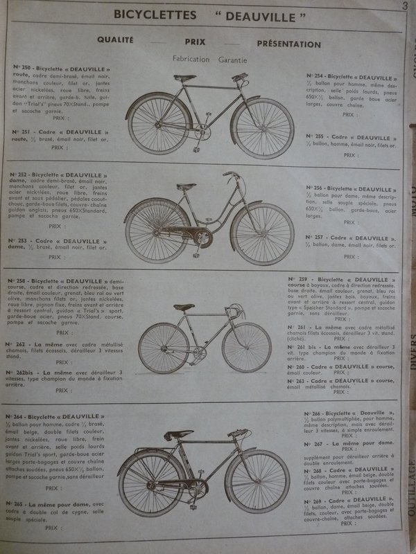 Bicyclette Peugeot 193?  File