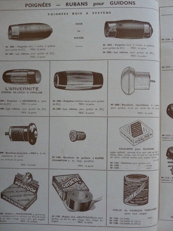 MoTobécane bnx 1940-41 cadre bi-tubes 3 vitesses .  File