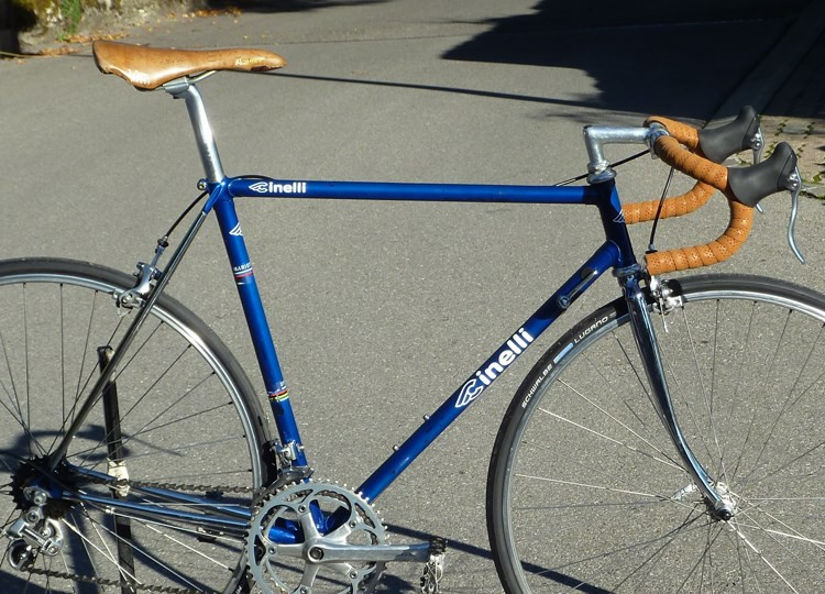 Mysterious 80\'s cinelli lugs on columbus frame : any idea? - Bike Forums