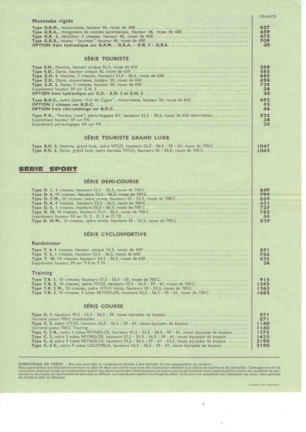 Motobecane C4 ~1980-82 File
