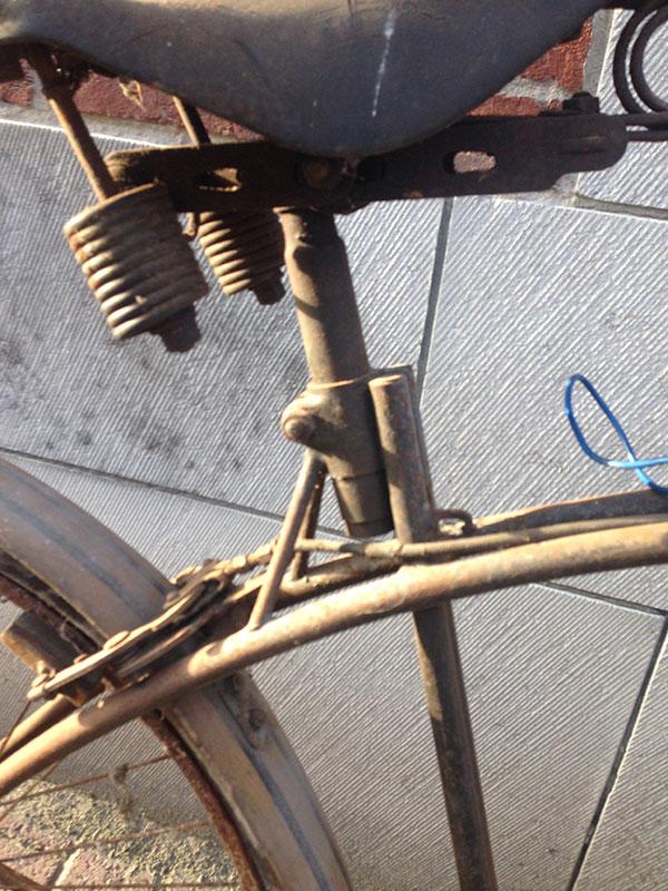 BSA vélo cadre datant