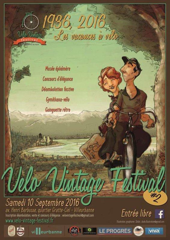2e Vélo Vintage Festival Villeurbanne 10 Sept 2016 File