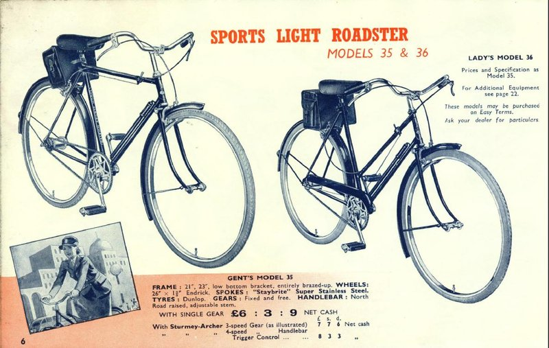 Raleigh Speed datant