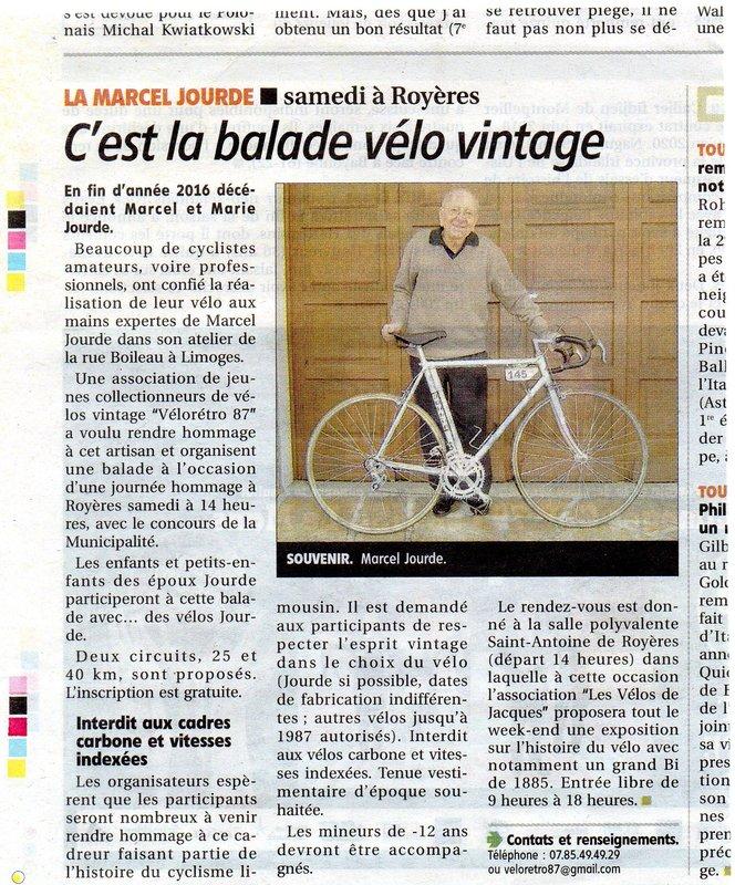 """"""" la Marcel JOURDE """" balade rétro en vélo le 22 avril 2017 File"""