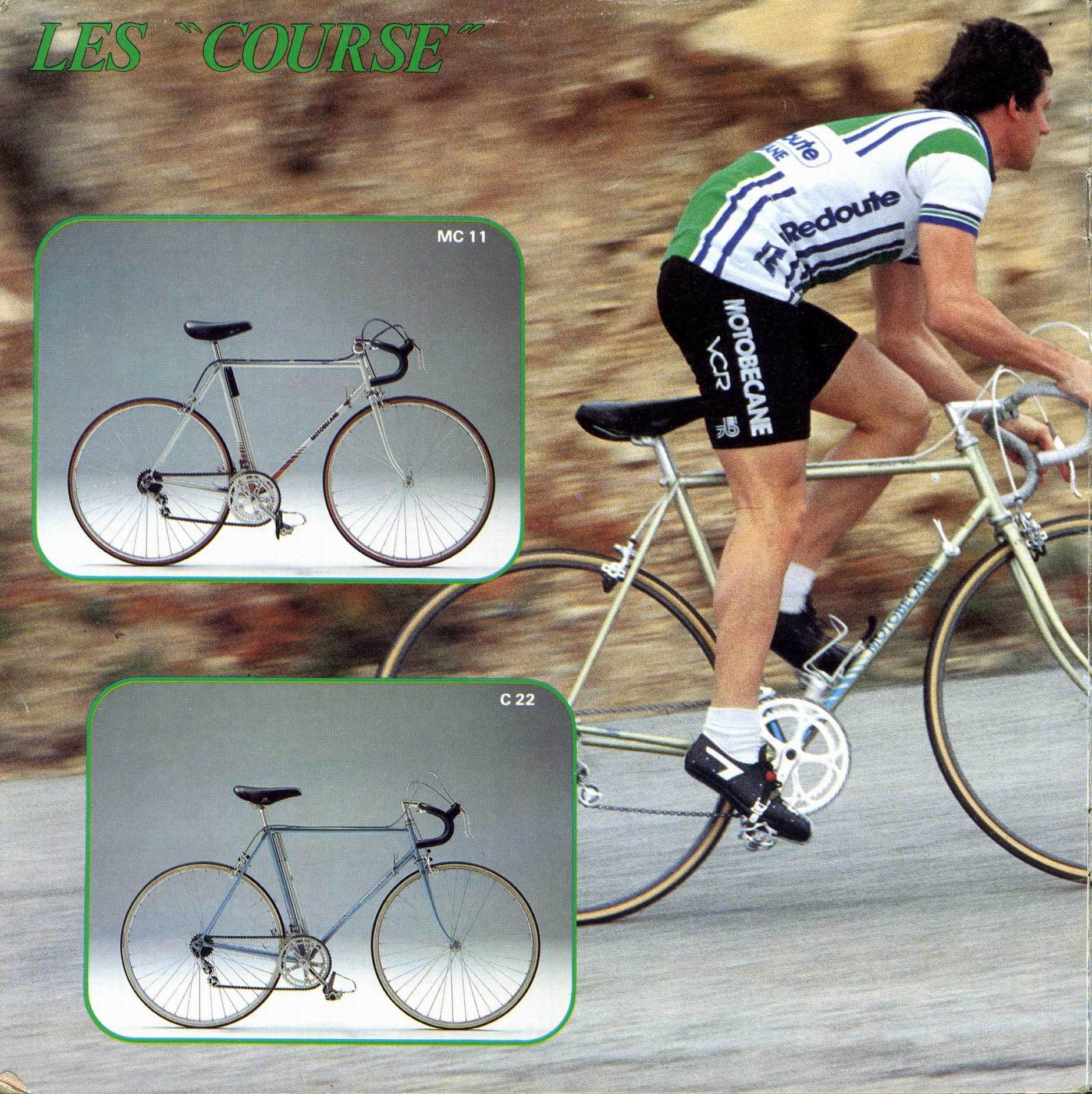 Vélo route Motobécane, mais lequel ? File