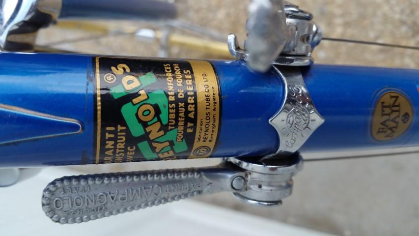 Sticker vélo REYNOLDS 531 « PROFESSIONNEL TUBES RENFORCES FOURREAUX DE FOURCHE E