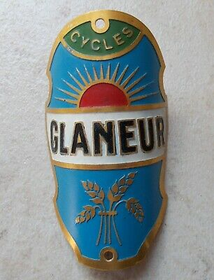 Plaque-de-vélo-cycles-Glaneur-France-bicyclette-headbadge.jpg