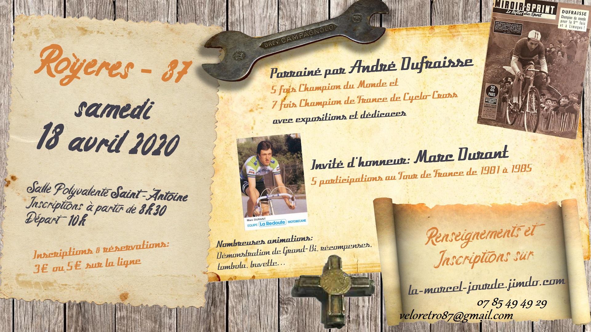 """Balade Vintage  """" La Marcel JOURDE """" samedi 18 avril 2020 File"""