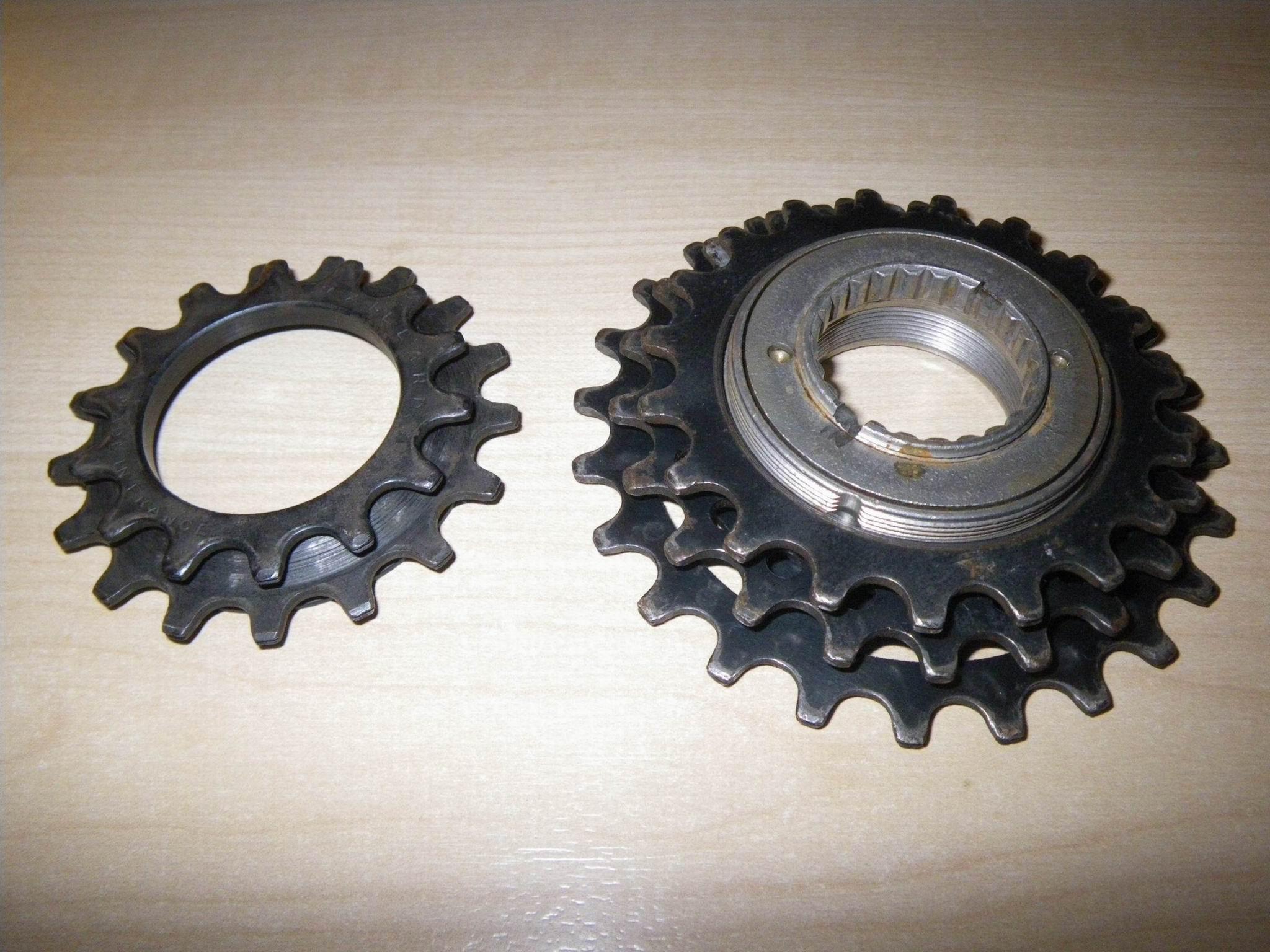 Pignons roue libre Maillard 5V (très) récalcitrants ... une idée ? File