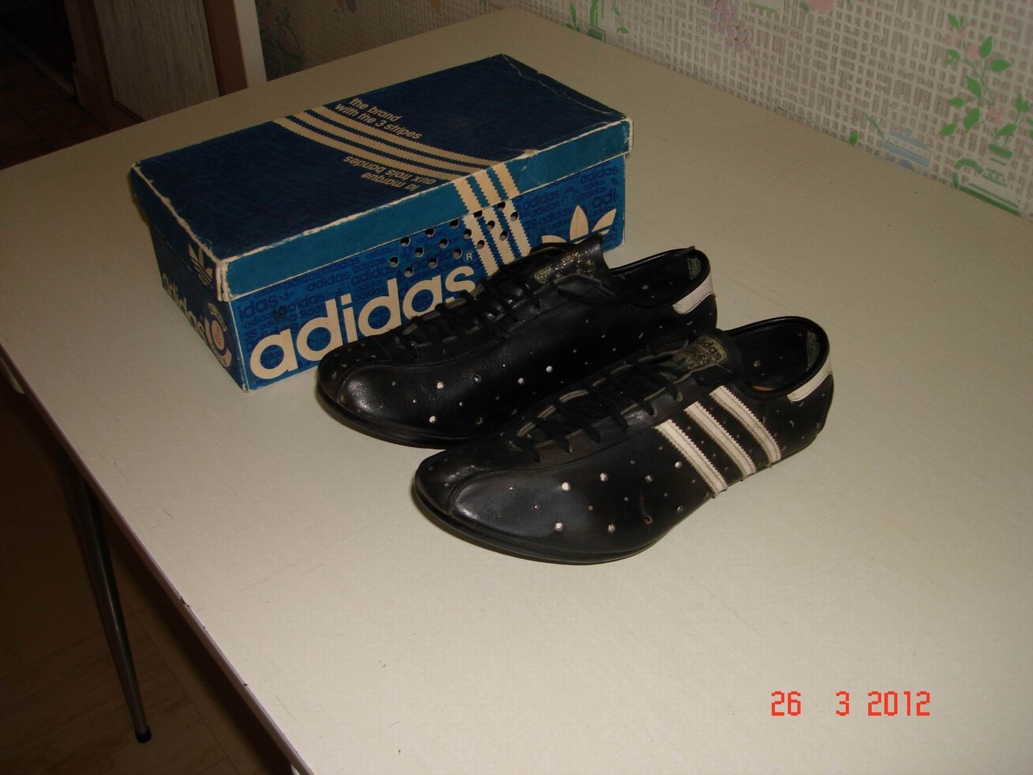 chaussure velo adidas vintage