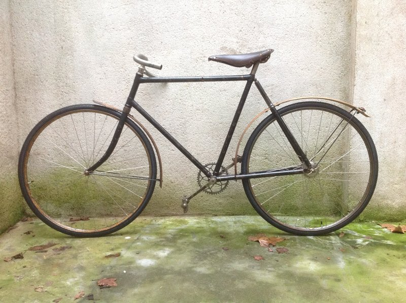 datant BSA bicyclettes